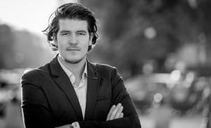 Portret van Christ Clijsen, event fotograaf uit Eindhoven.