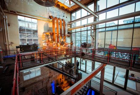 Het interieur van de Machinefabriek | Christ Clijsen